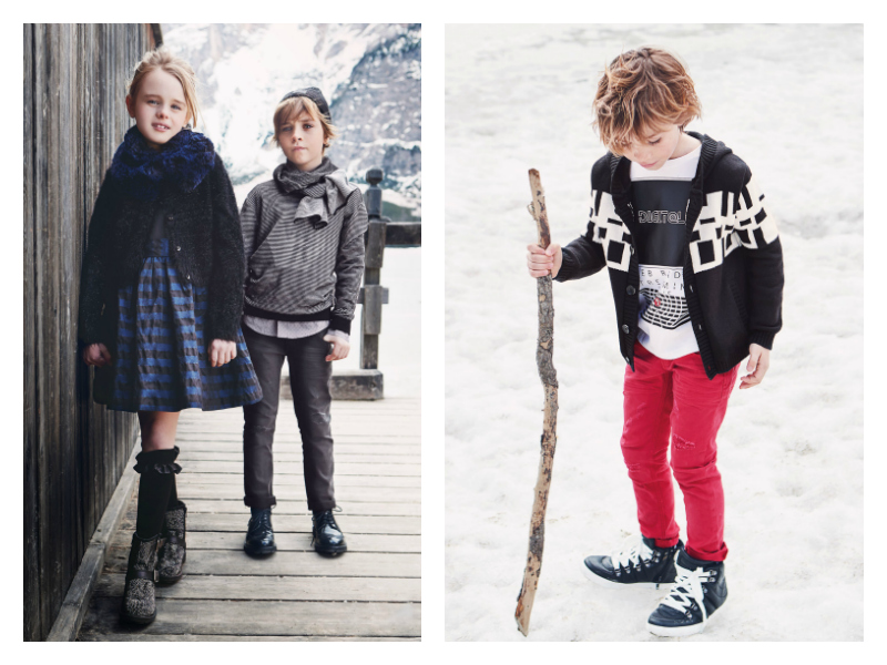 Модные детские костюмы 2018