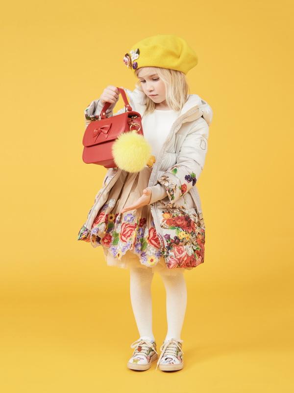 Платье и куртка для девочки Monnalisa