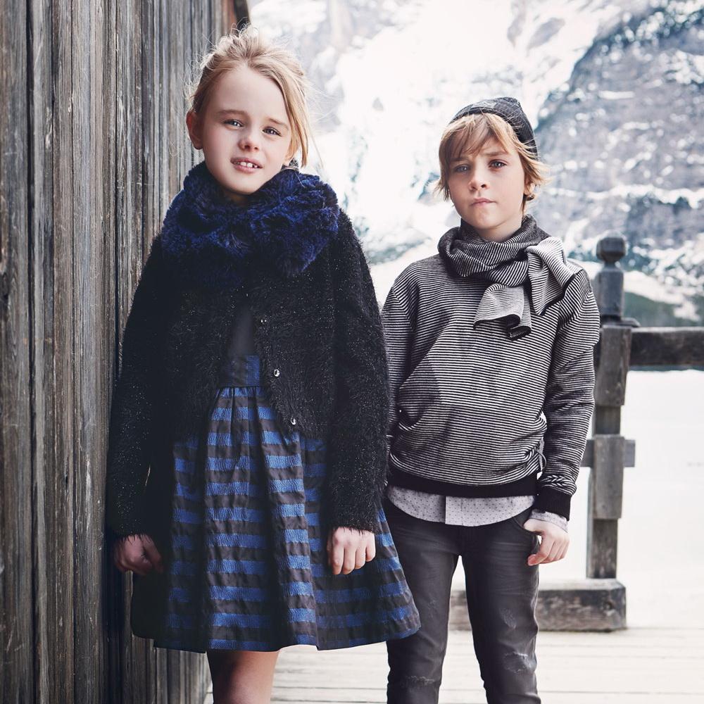Одежда для мальчиков и девочек Осень Зима 2018